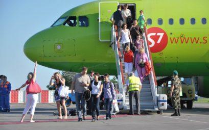 Распродажа авиабилетов от авиакомпании S7, скидки до 50%