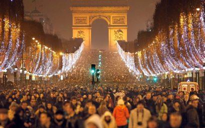 Дешевые билеты на Новый Год из Хельсинки в Париж