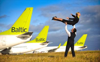 Распродажа авиабилетов от AirBaltic