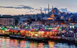 Дешевые билеты на май из Москвы в Стамбул