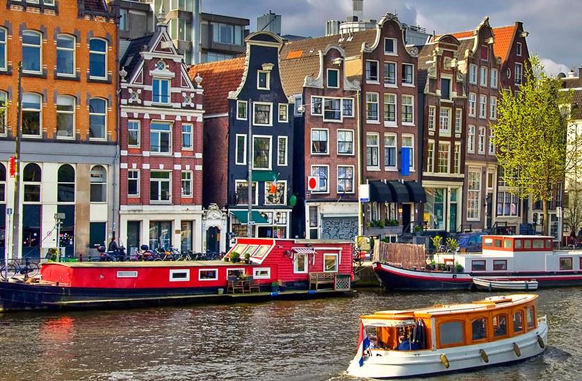 Купить дешевые билеты из Москвы в Амстердам